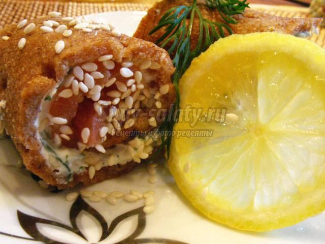 Рулетики из рыбы - вкусно и просто