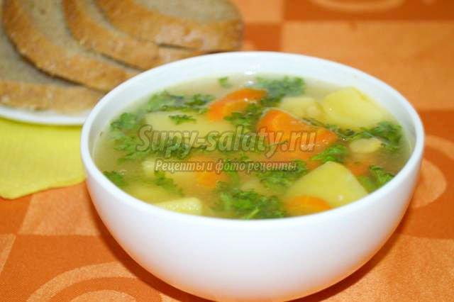 гороховый суп с кроликом