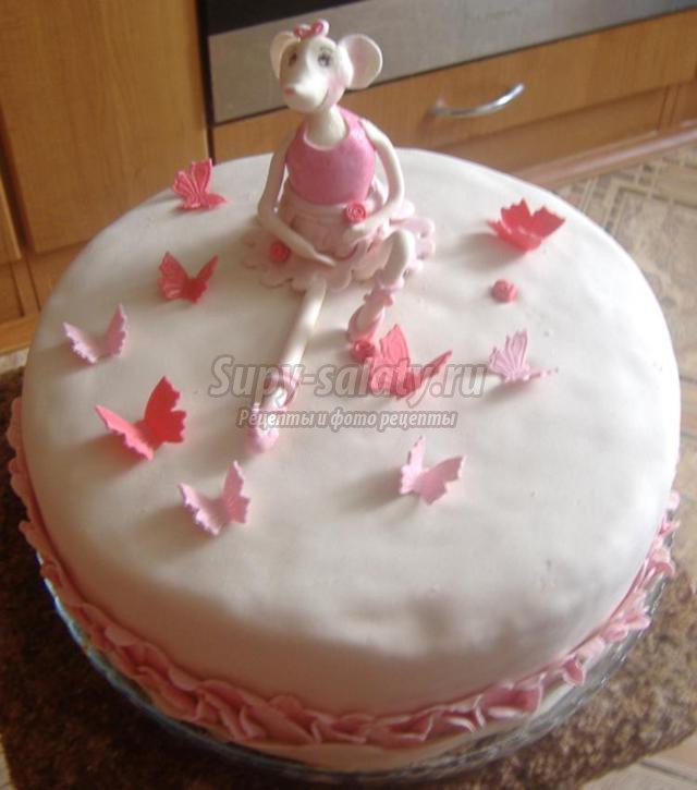 Рецепт торта ангелина с фото