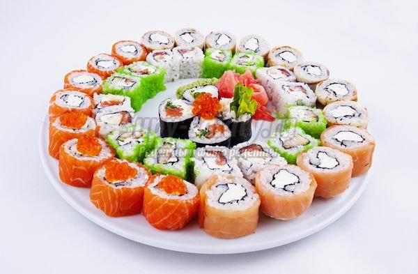Самые популярные начинки для суши и роллов