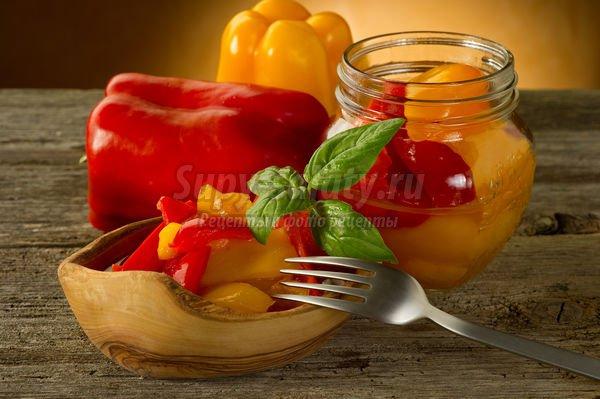 Как заготовить болгарский перец на зиму?