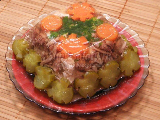 Холодец рецепт с фото пошагово из говядины в мультиварке