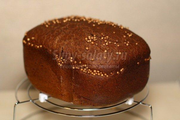 Бородинский хлеб в хлебопечке. Варианты выпечки
