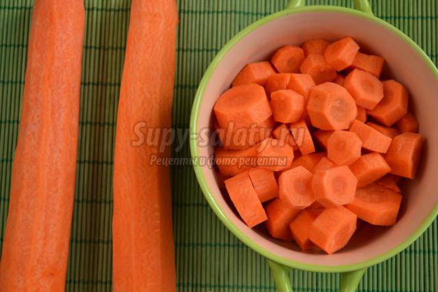Морковный суп с булгуром, пошаговый рецепт с фото