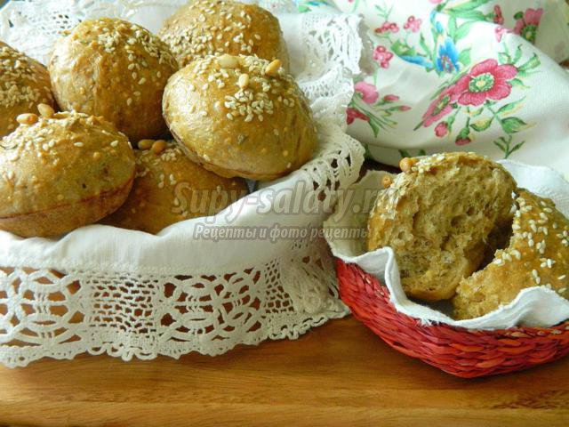 финские булочки из многозерновой смеси