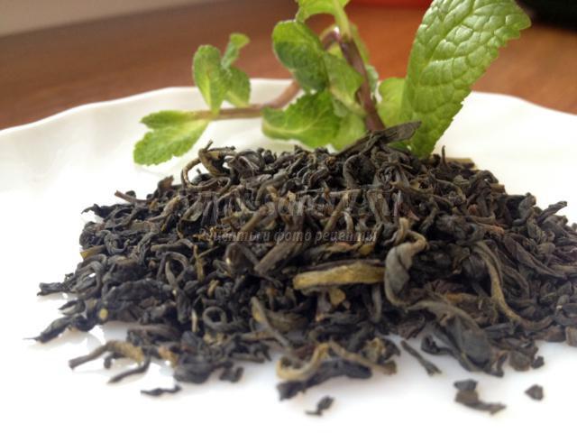 марокканский чай с кедровыми орешками