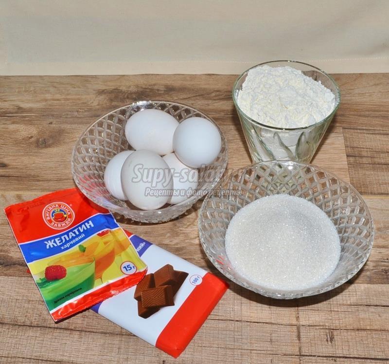 пирожные птичье молоко