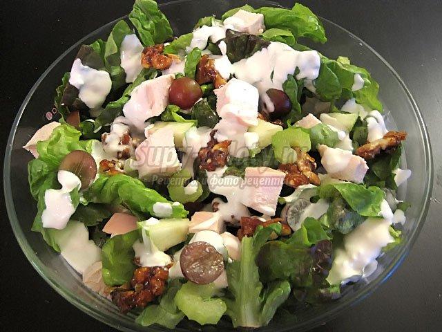 простой салат с курицей: лучшие рецепты с фото
