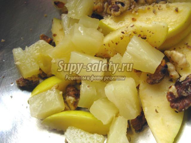 Простые салаты с ананасом. Отличная подборка