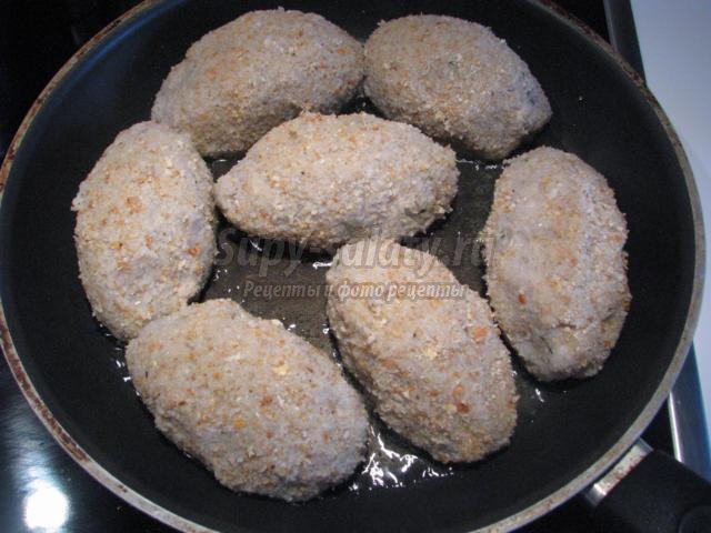 Рыбные котлеты в панировке рецепт с фото пошагово
