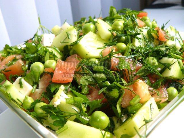 4. Самые популярные простые салаты