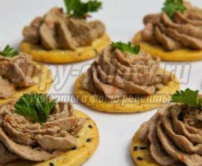 праздничные бутерброды и закуски с фото