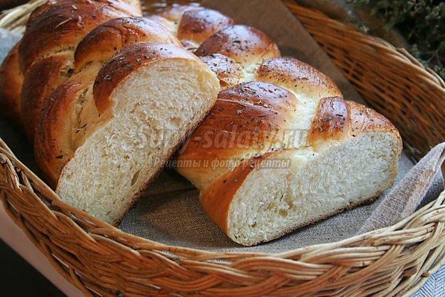 Хлеб плетенка