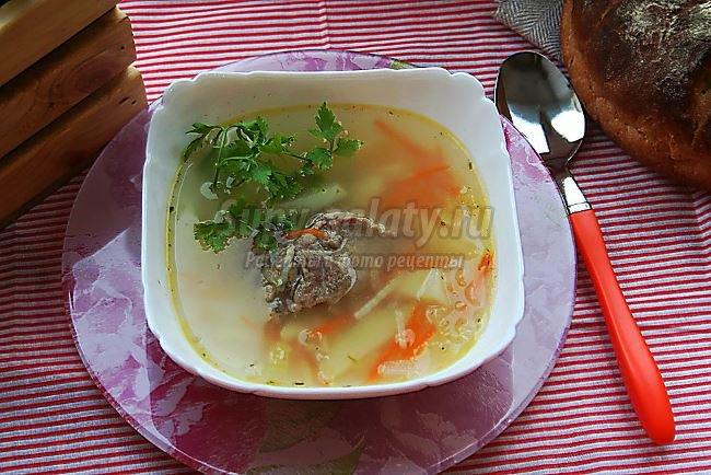 Суп по-румынски