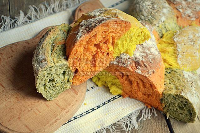 разноцветная плетёнка