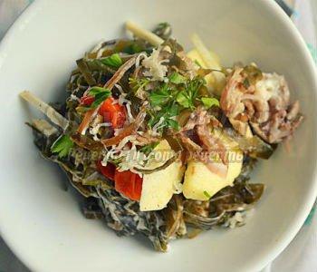 139Витаминный салат с капустой и морковью рецепт
