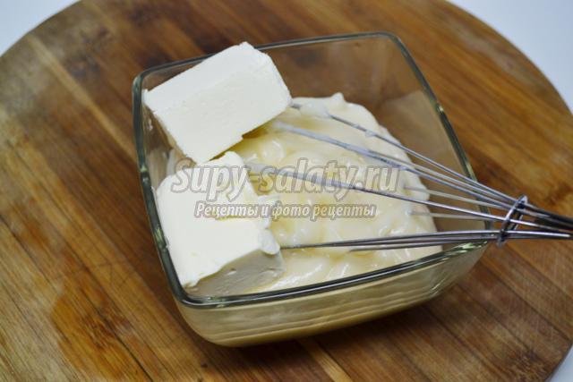 торт с кремом из кокосового молока. Нарцисс