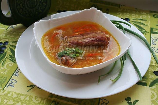 Скандинавский гороховый суп