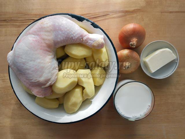 Жаркое из мяса и картофеля по-полтавски