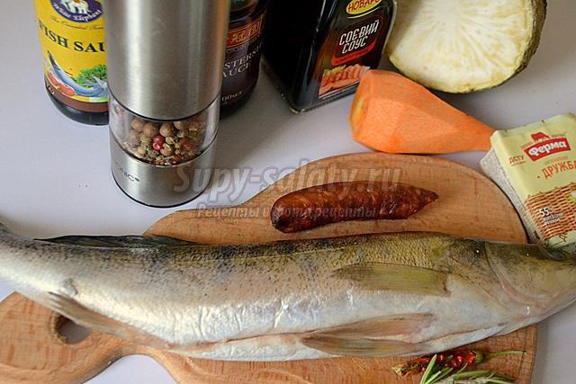 Рыбные рулеты из судака