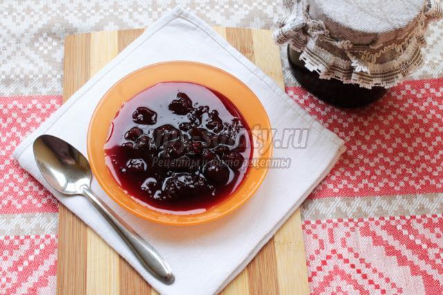 малиново-вишнёвое варенье