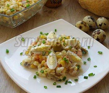 Жюльен с перепелиными яйцами, пошаговый рецепт с фото