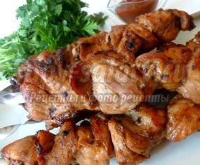 рецепт шашлыка в электрошашлычнице из свинины