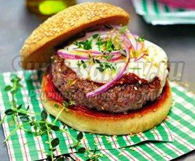Домашние бургеры: рецепт с бараниной