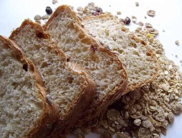 Хлеб многозерновой: печем в хлебопечке