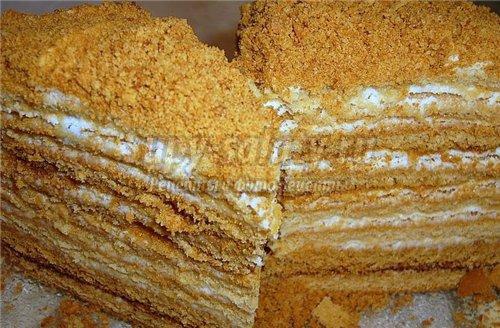 Крем для медового торта. Вкусные рецепты