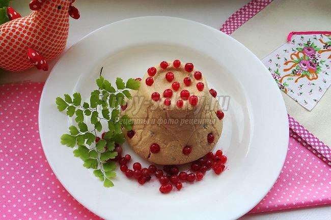 Творожная пасха со сгущенкой