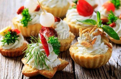 праздничные закуски: лучшие рецепты с фото