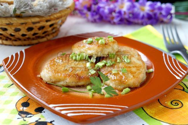 Куриные котлеты с овсянкой в духовке рецепт