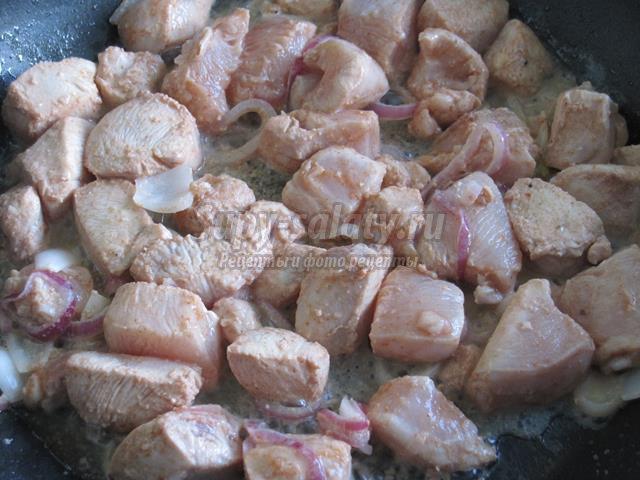 Куриный шашлык в духовке