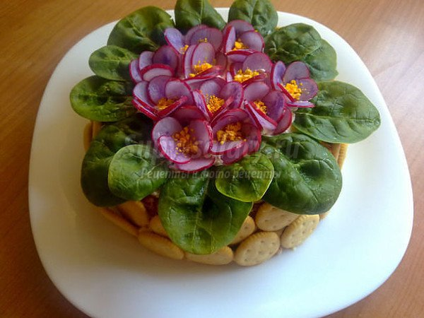 Необычные рецепты салатов