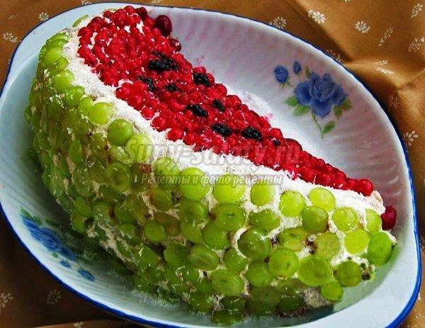 Украшение салатов: оригинальные идеи для праздничного 71