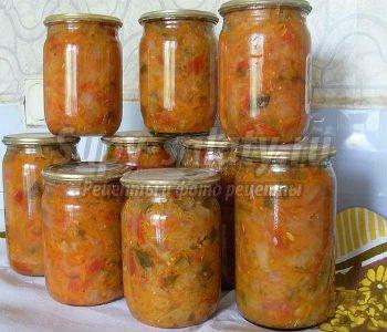 солянка из капусты на зиму лучшие рецепты с фото