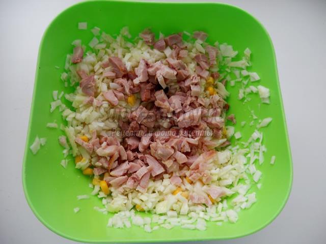 Салат Оляля  кулинарный рецепт