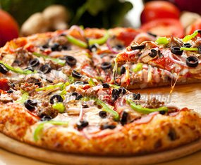 Быстрая домашняя пицца – отличный рецепт