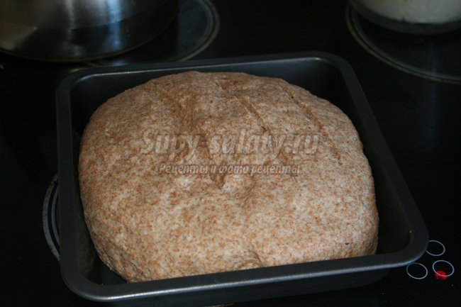 Ржаной домашний хлеб