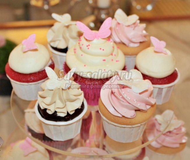 Капкейки на свадьбу – вкусный и оригинальный десерт