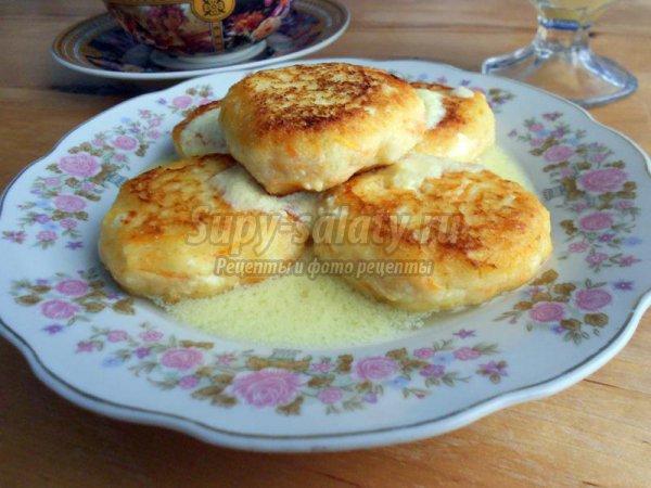Сырники с соусом из кумкватов, пошаговый рецепт с фото
