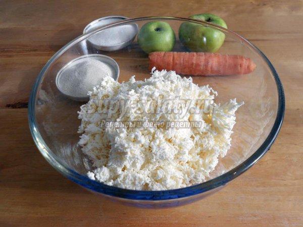 Сырники с морковью