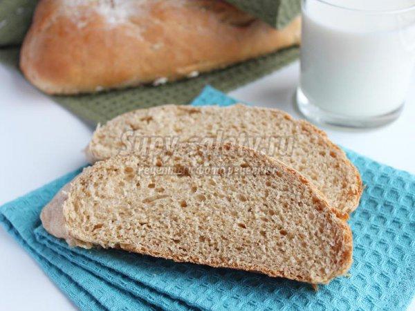 Домашний хлеб с цельной муки