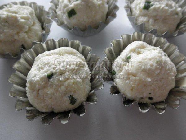 Соленое творожное печенье