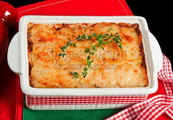Картофельная запеканка с фаршем в духовке: лучшие рецепты с фото