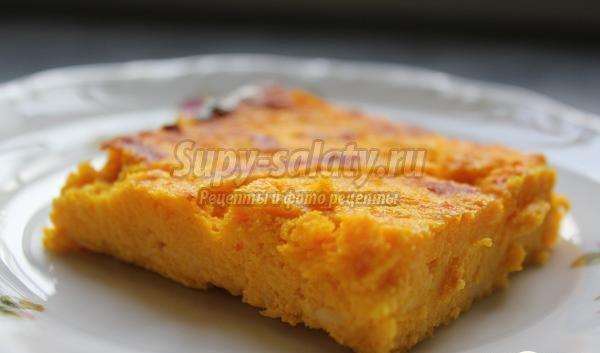 Морковная запеканка: рецепты для детей и взрослых