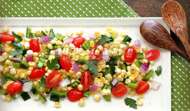 летние салаты на день рождения: ТОП-10 рецептов с фото