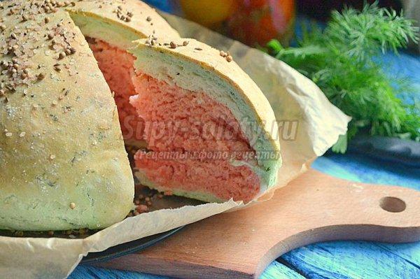 Необычный домашний  хлеб