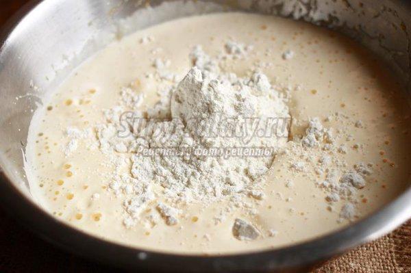 Бисквит с печеной тыквой